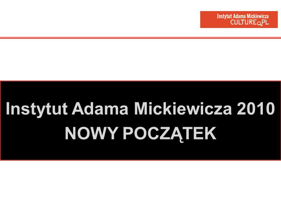 Instytut Adama Mickiewicza 2010