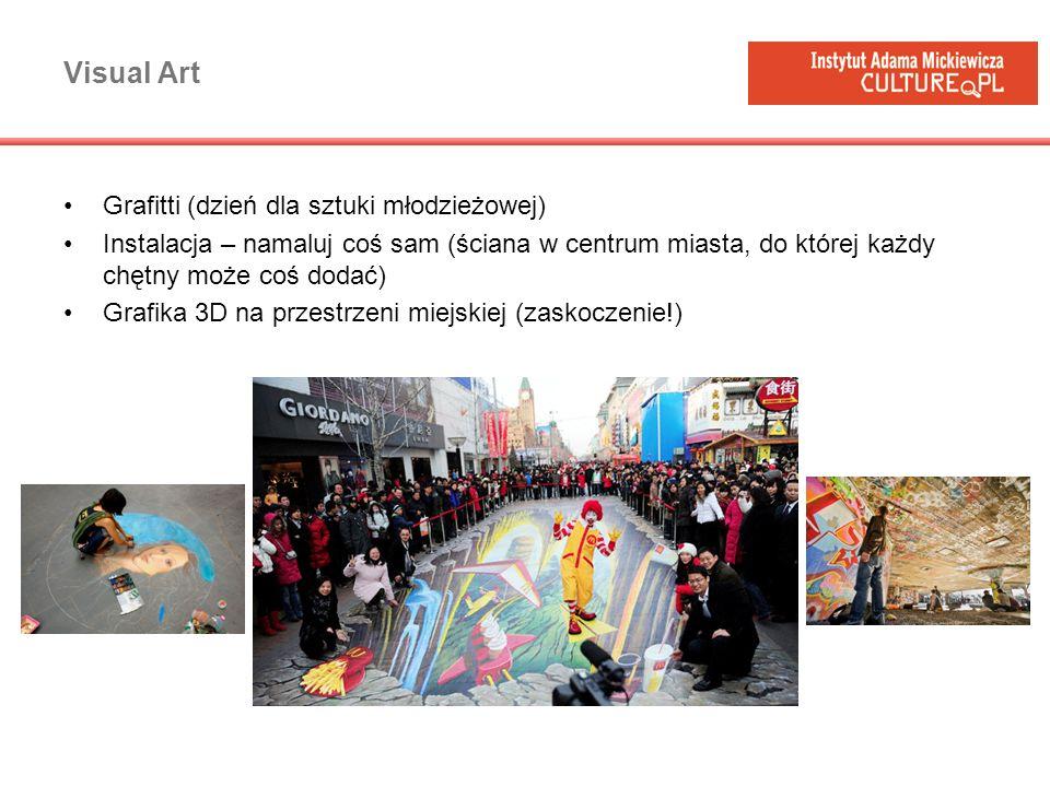 Visual Art Grafitti (dzień dla sztuki młodzieżowej)
