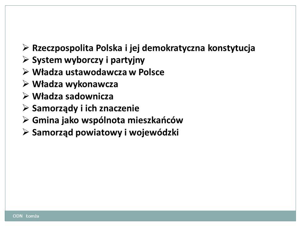 Rzeczpospolita Polska i jej demokratyczna konstytucja