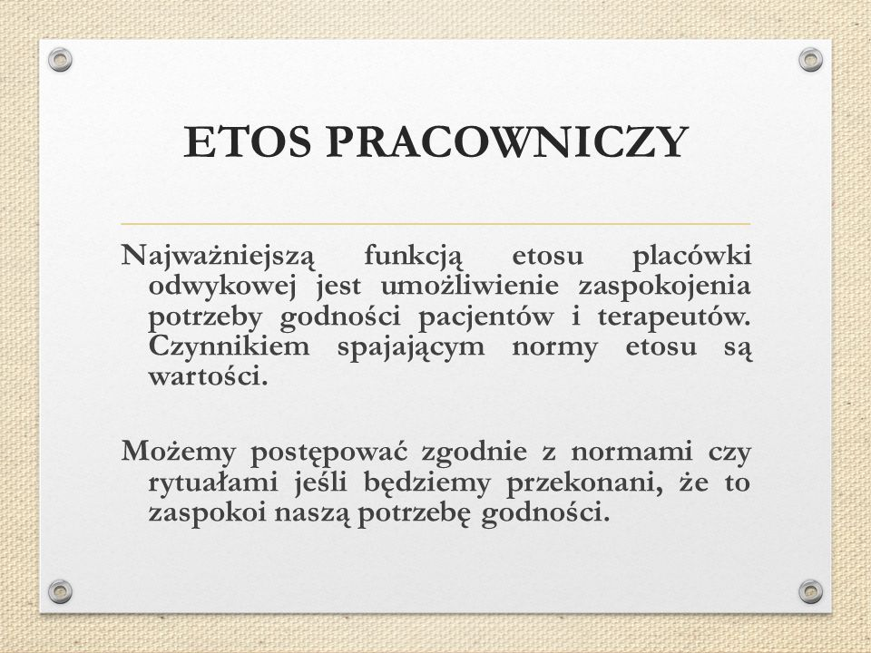 ETOS PRACOWNICZY