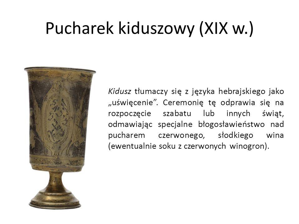 Pucharek kiduszowy (XIX w.)