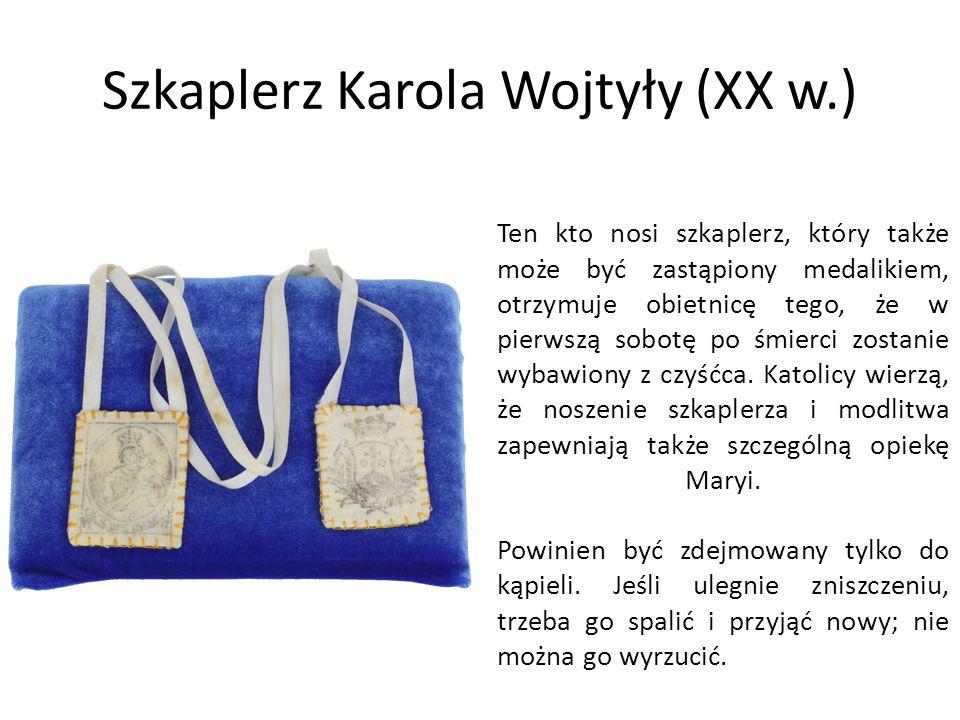 Szkaplerz Karola Wojtyły (XX w.)