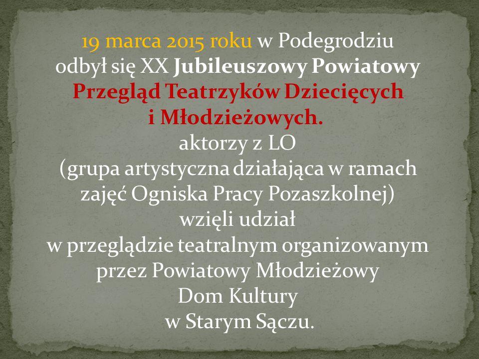 Dom Kultury w Starym Sączu.