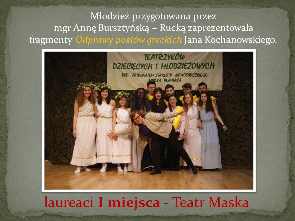 laureaci I miejsca - Teatr Maska