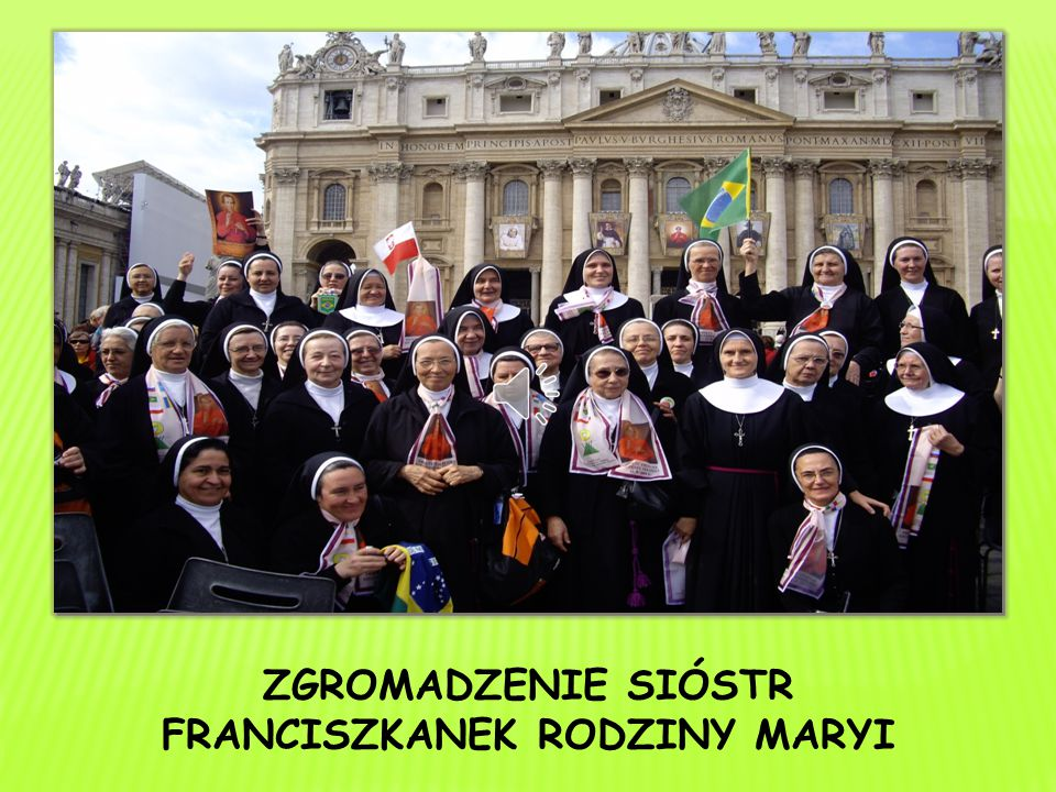 FRANCISZKANEK RODZINY MARYI