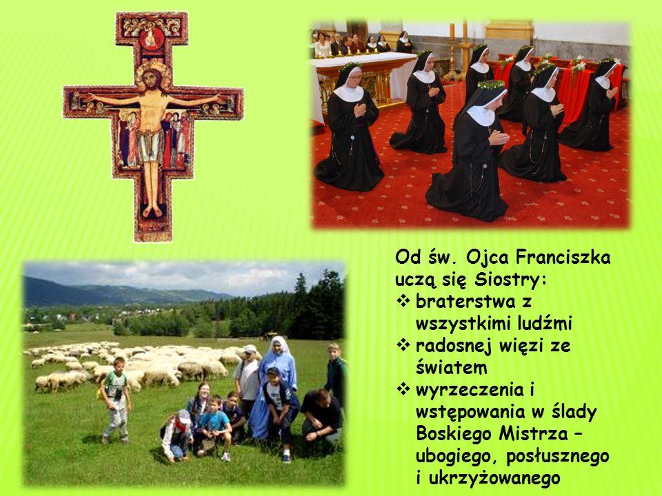 Od św. Ojca Franciszka uczą się Siostry: