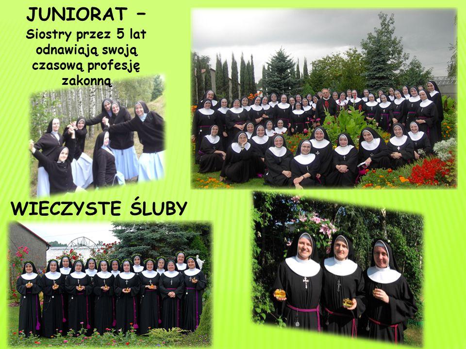 JUNIORAT – Siostry przez 5 lat odnawiają swoją czasową profesję zakonną