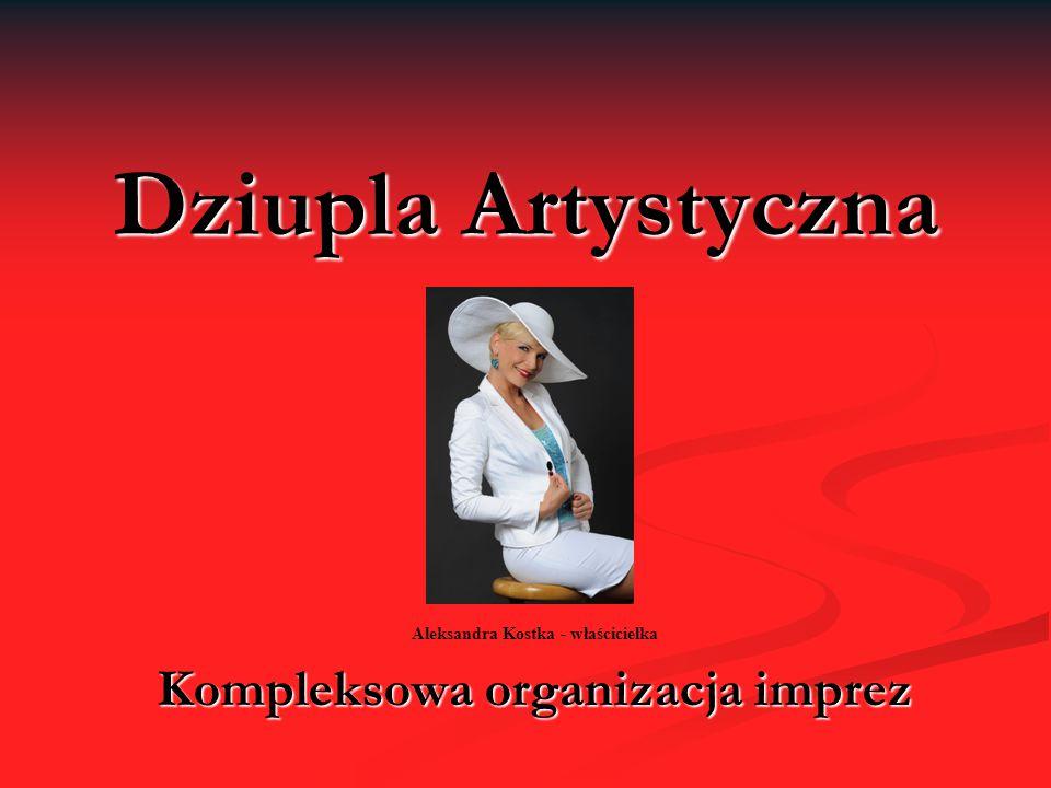 Aleksandra Kostka - właścicielka Kompleksowa organizacja imprez