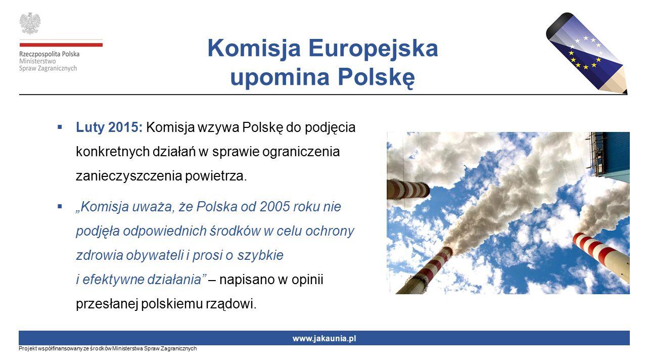 Komisja Europejska upomina Polskę