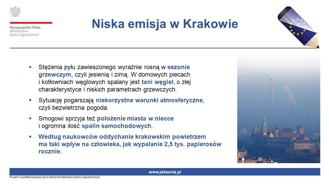Niska emisja w Krakowie