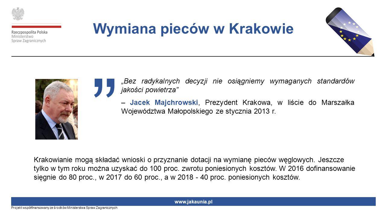 Wymiana pieców w Krakowie