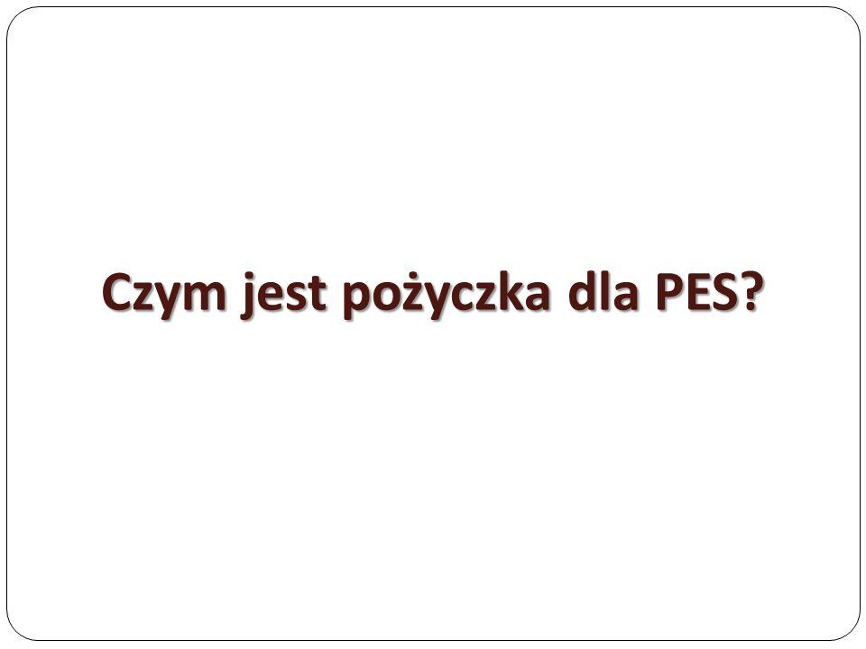 Czym jest pożyczka dla PES