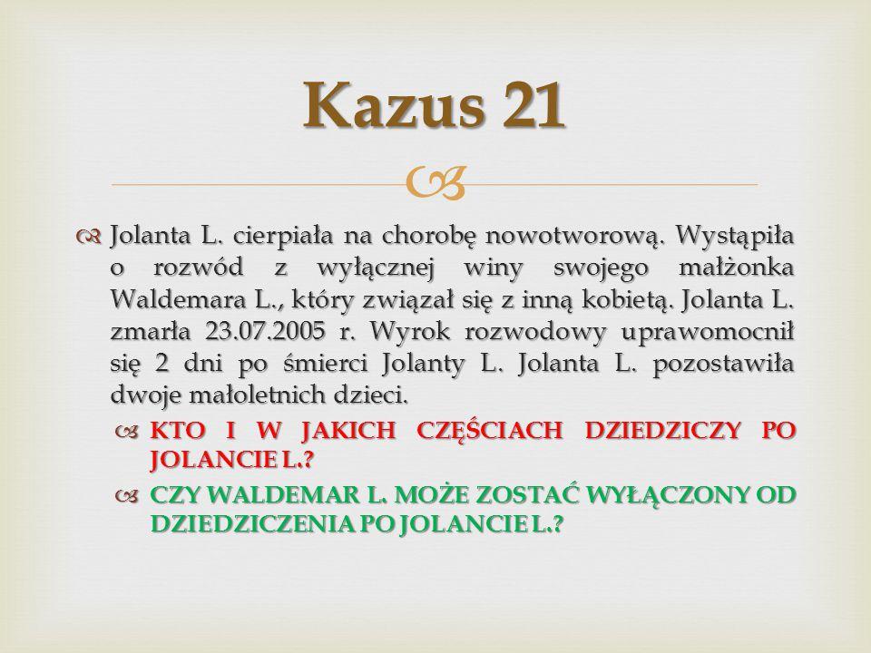 Kazus 21