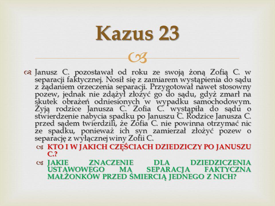 Kazus 23