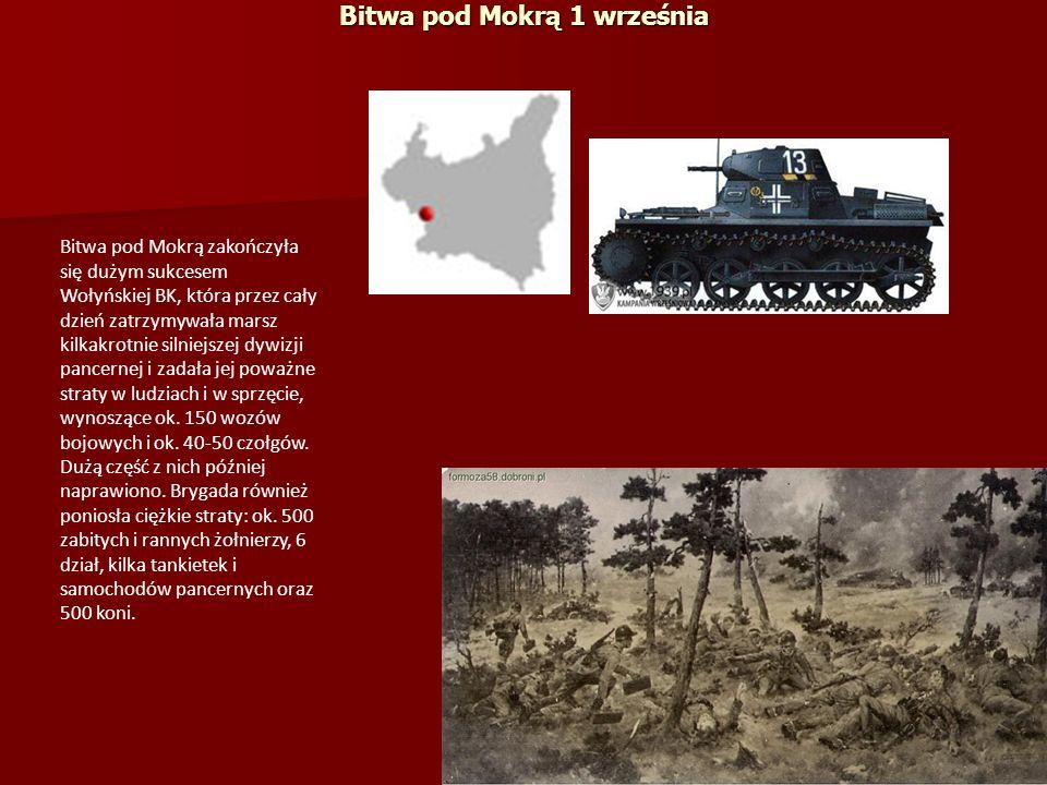 Bitwa pod Mokrą 1 września