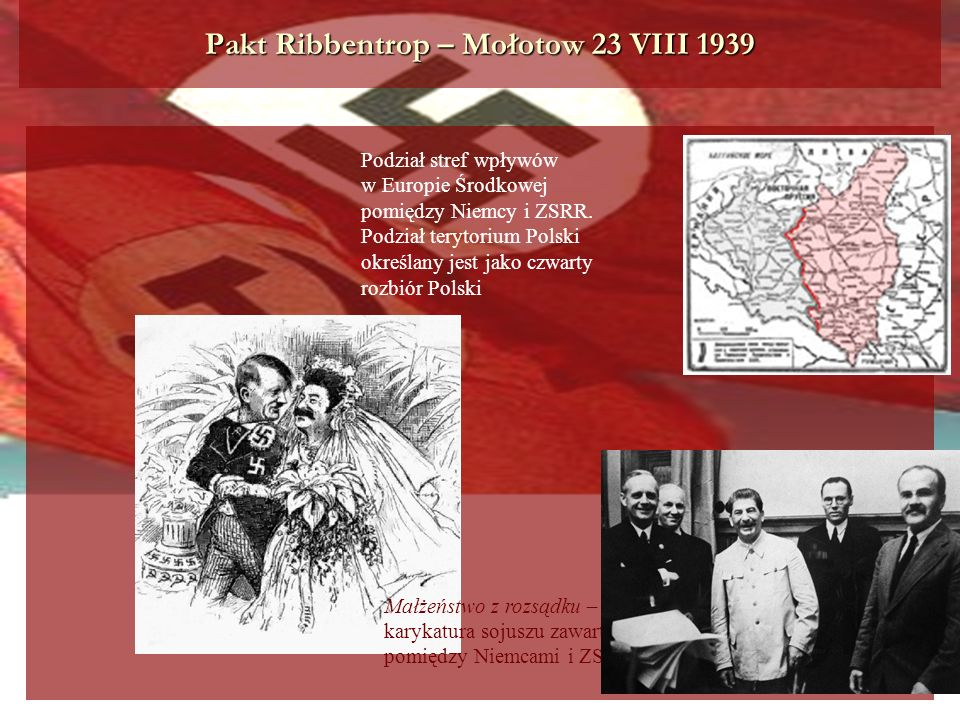 Pakt Ribbentrop – Mołotow 23 VIII 1939