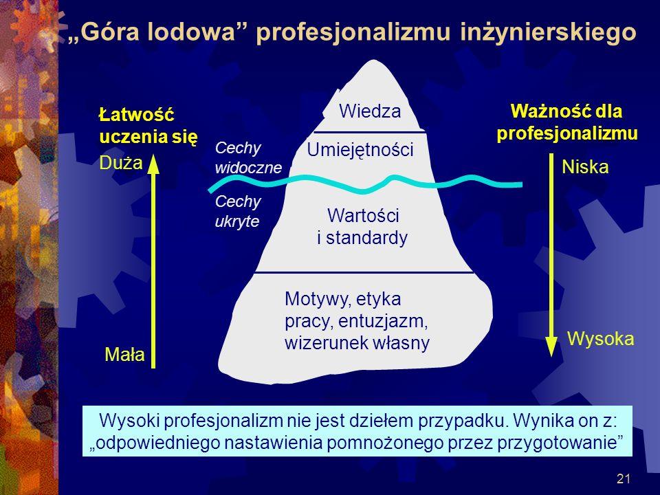 """""""Góra lodowa profesjonalizmu inżynierskiego"""