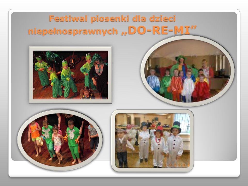 """Festiwal piosenki dla dzieci niepełnosprawnych """"DO-RE-MI"""