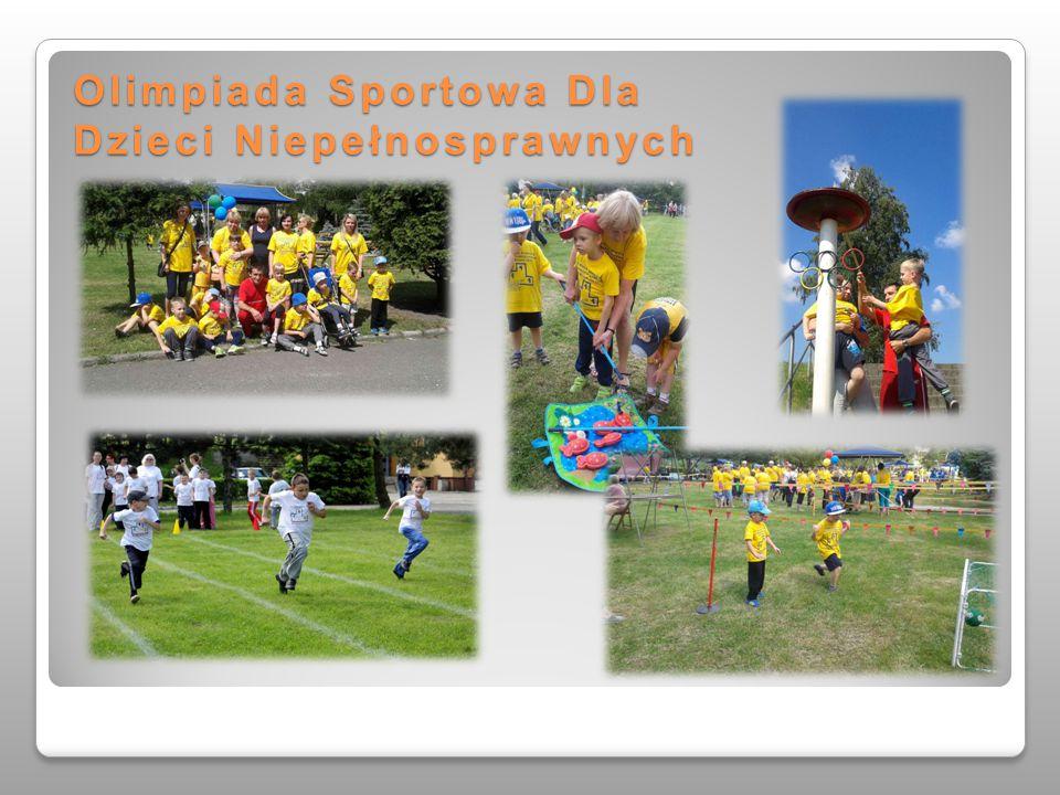 Olimpiada Sportowa Dla Dzieci Niepełnosprawnych