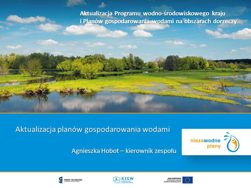 Aktualizacja planów gospodarowania wodami