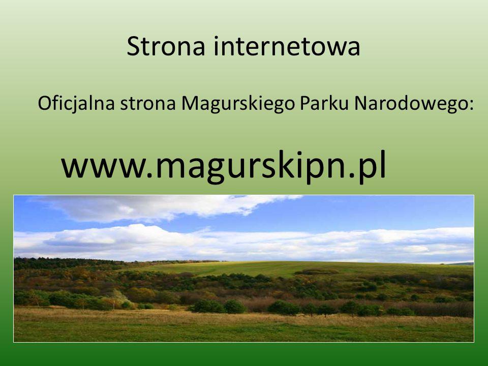 Oficjalna strona Magurskiego Parku Narodowego: