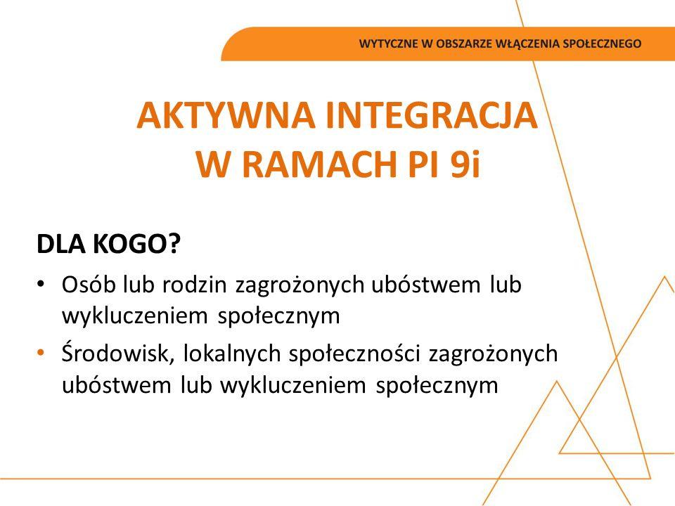 AKTYWNA INTEGRACJA W RAMACH PI 9i