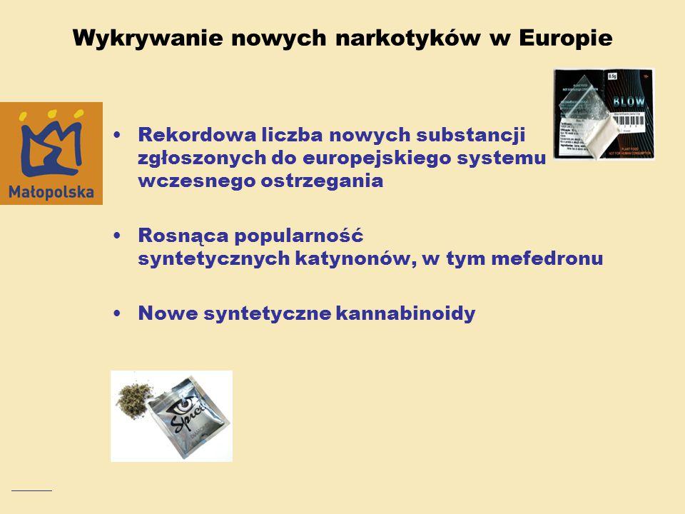 Wykrywanie nowych narkotyków w Europie
