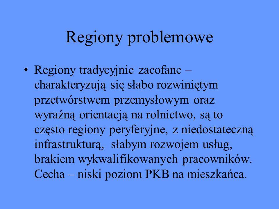 Regiony problemowe