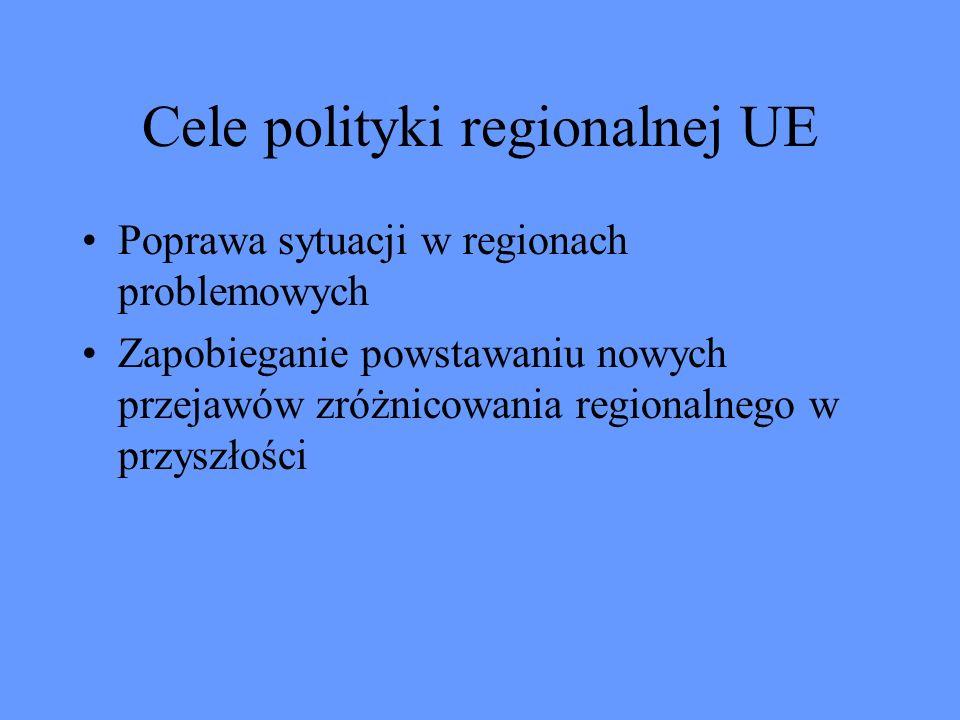 Cele polityki regionalnej UE
