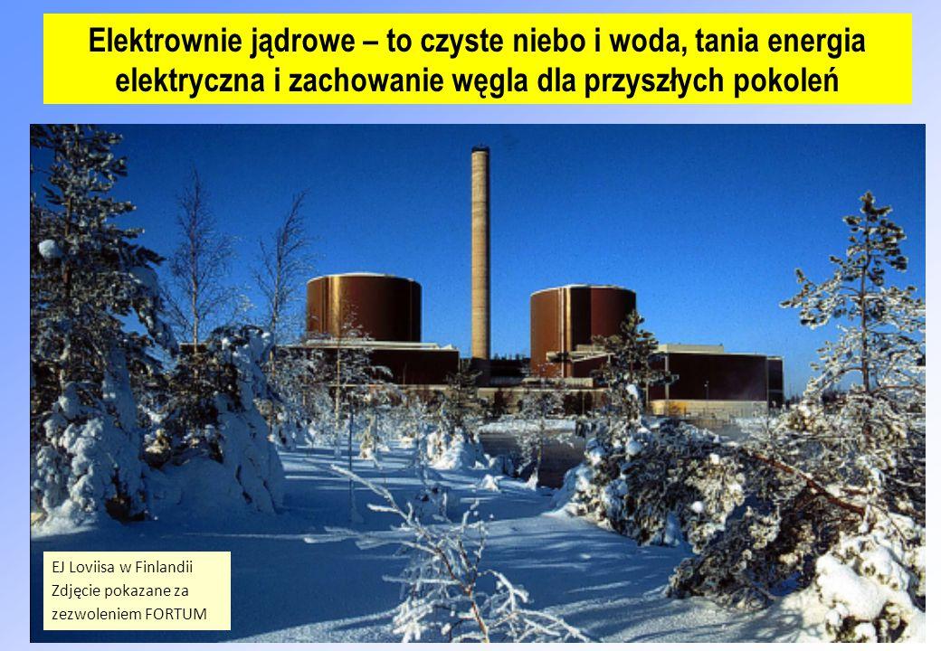 Elektrownie jądrowe – to czyste niebo i woda, tania energia elektryczna i zachowanie węgla dla przyszłych pokoleń
