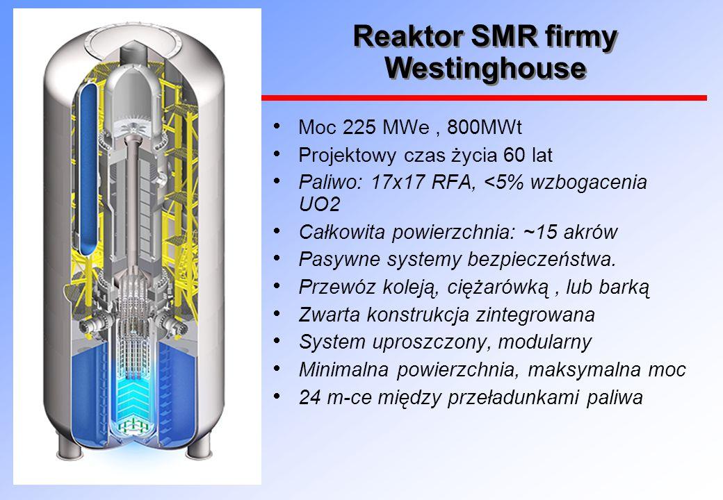 Reaktor SMR firmy Westinghouse