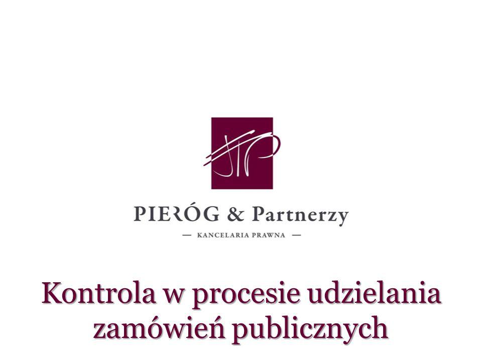 Kontrola w procesie udzielania zamówień publicznych