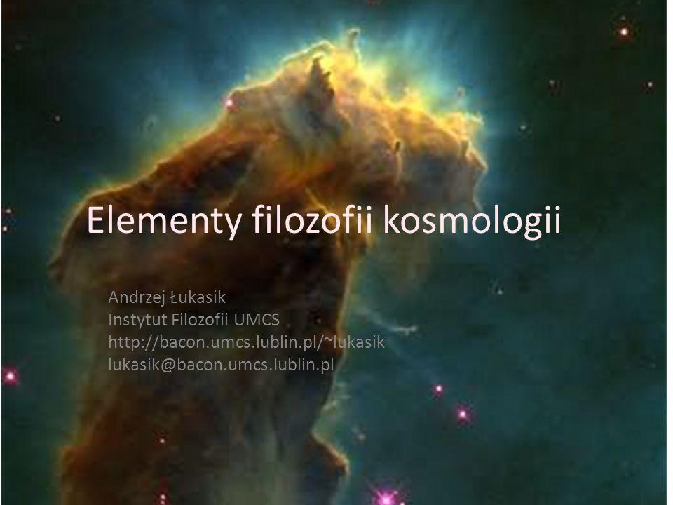 Elementy filozofii kosmologii