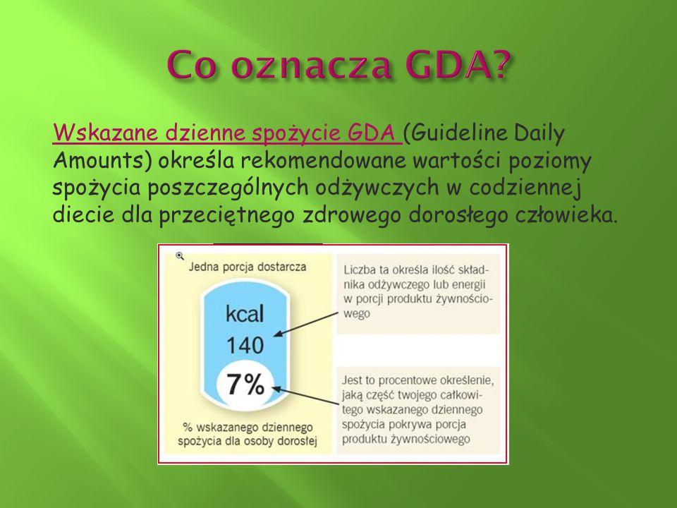 Co oznacza GDA