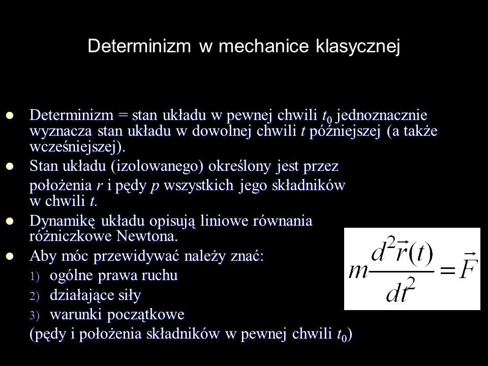 Determinizm w mechanice klasycznej