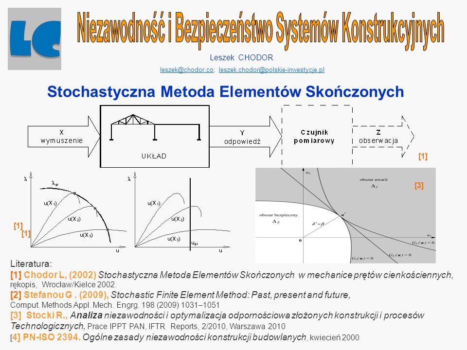 Niezawodność i Bezpieczeństwo Systemów Konstrukcyjnych