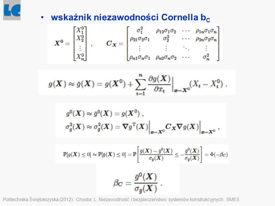 wskaźnik niezawodności Cornella bC