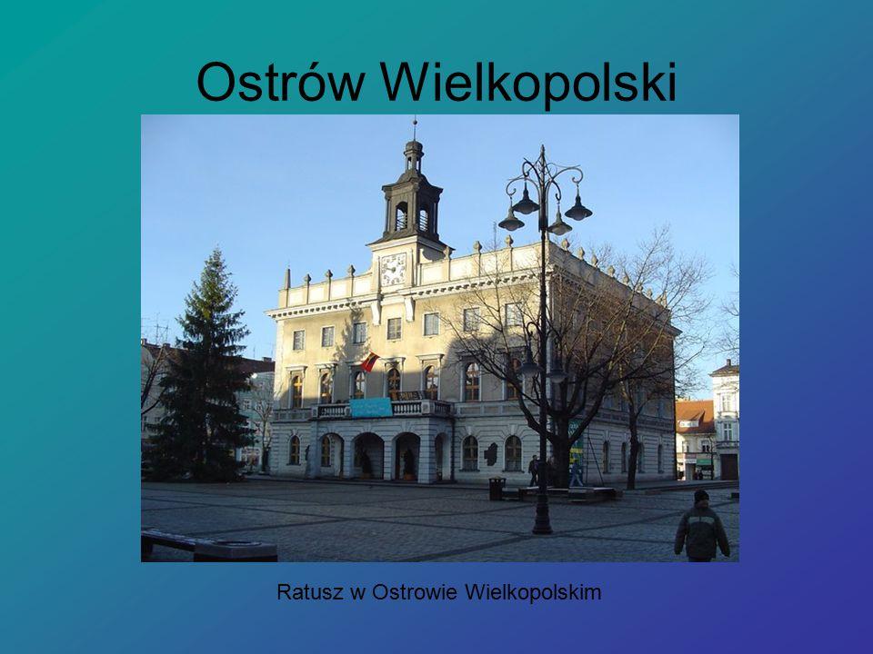 Ratusz w Ostrowie Wielkopolskim