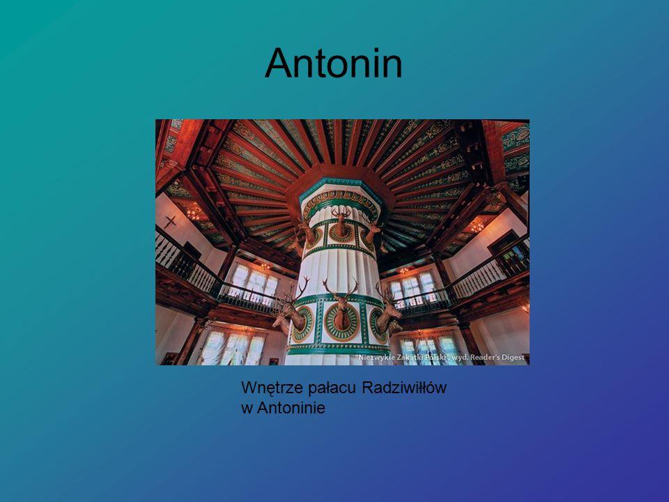 Antonin Wnętrze pałacu Radziwiłłów w Antoninie