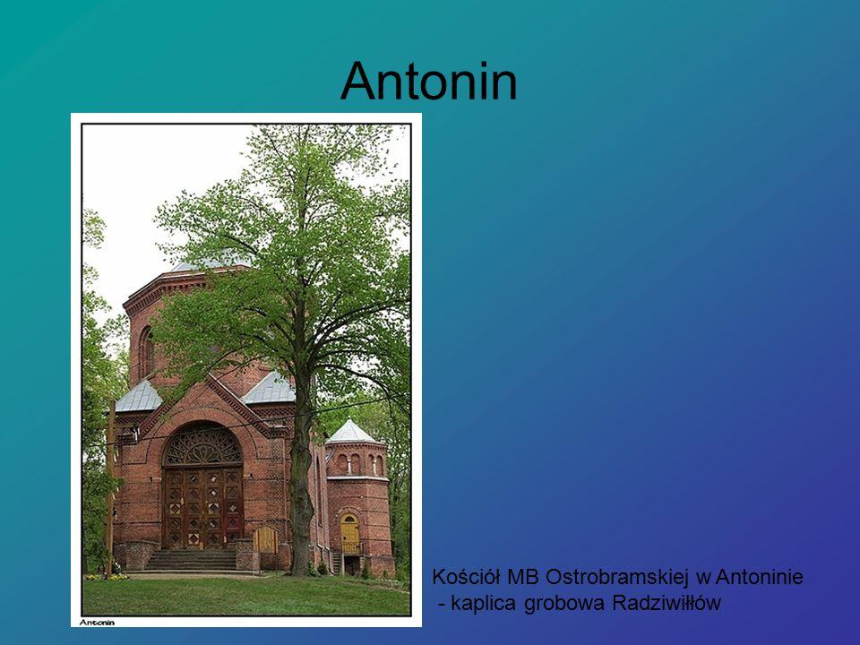 Antonin Kościół MB Ostrobramskiej w Antoninie