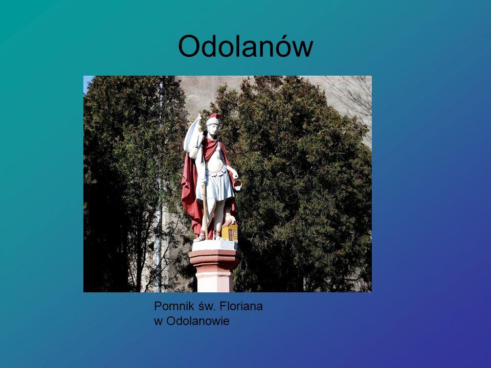 Odolanów Pomnik św. Floriana w Odolanowie