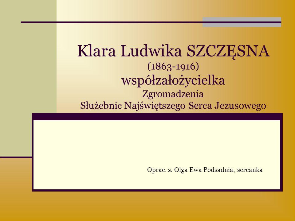 Oprac. s. Olga Ewa Podsadnia, sercanka