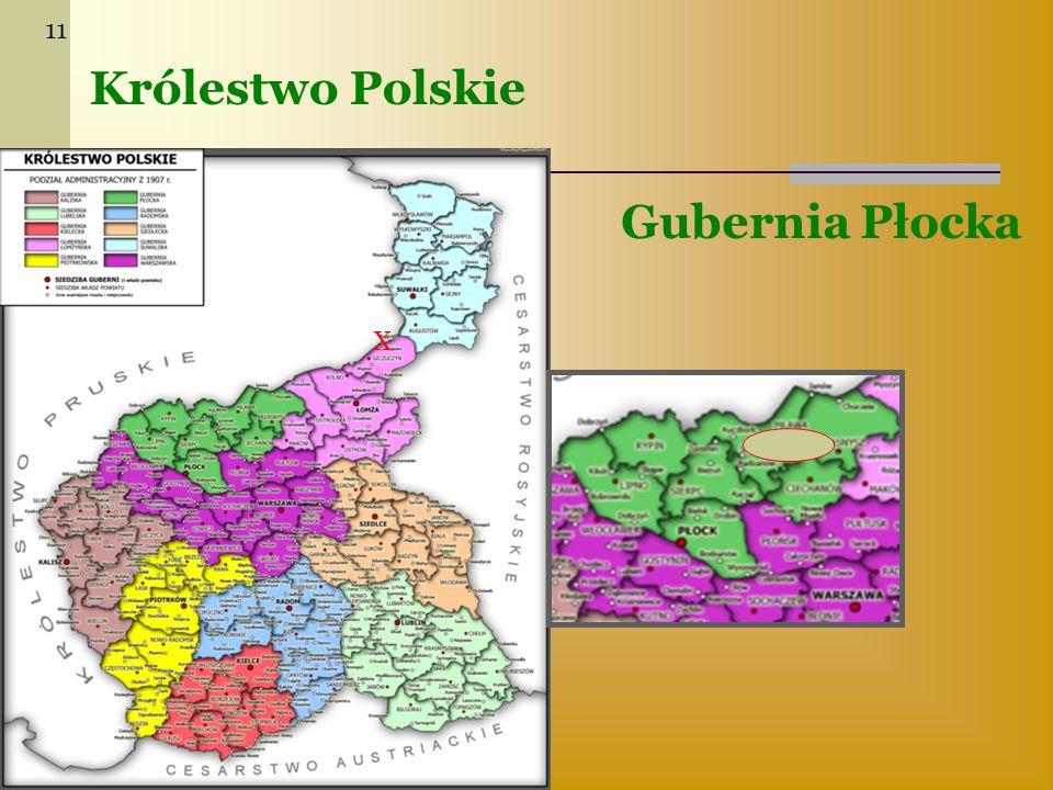 11 Królestwo Polskie Gubernia Płocka X