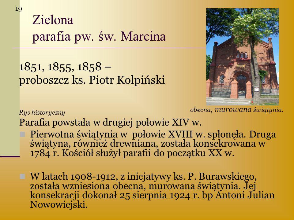 Zielona parafia pw. św. Marcina