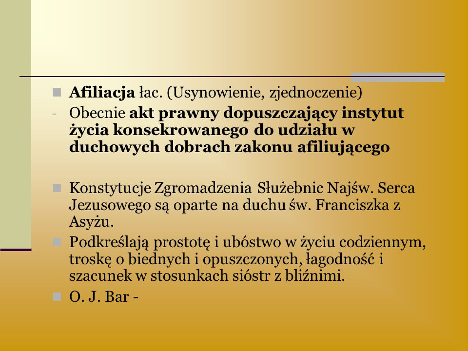 Afiliacja łac. (Usynowienie, zjednoczenie)