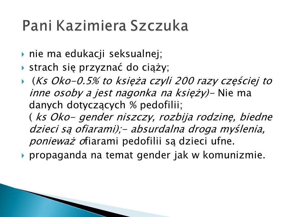 Pani Kazimiera Szczuka