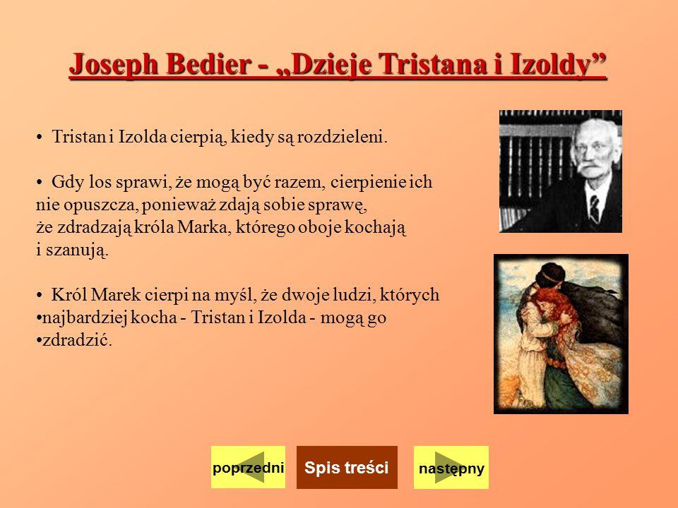 """Joseph Bedier - """"Dzieje Tristana i Izoldy"""