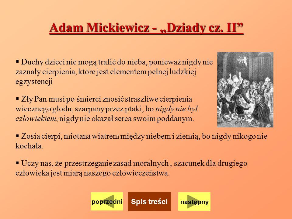 """Adam Mickiewicz - """"Dziady cz. II"""