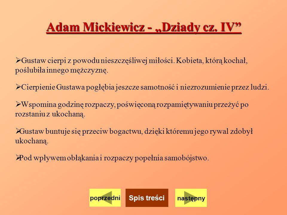 """Adam Mickiewicz - """"Dziady cz. IV"""