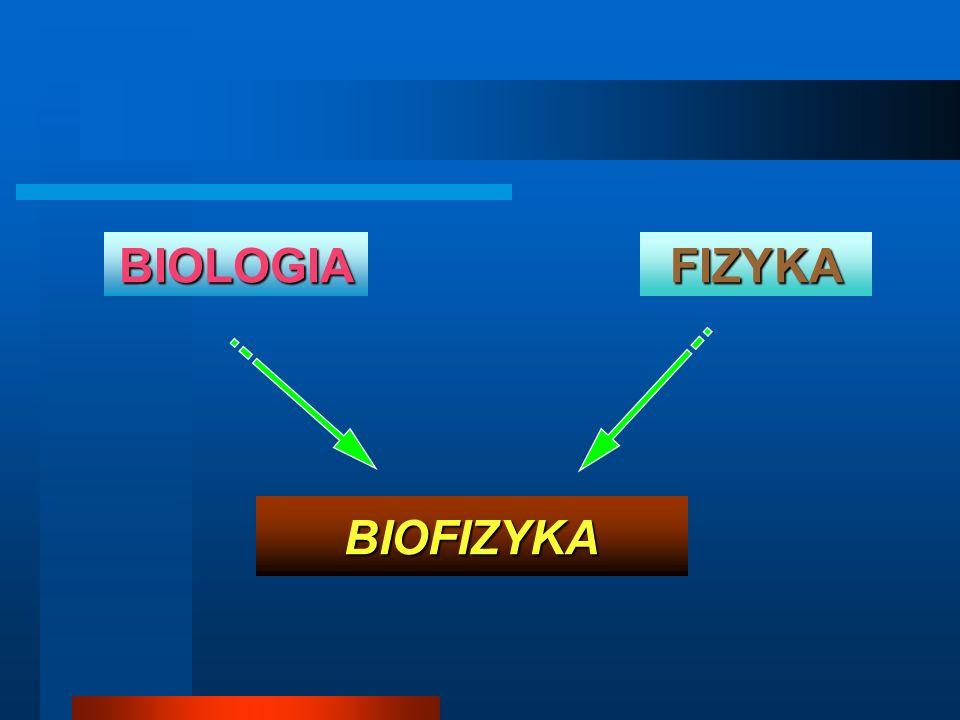 BIOLOGIA FIZYKA BIOFIZYKA
